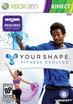 Jaquette Your Shape : Fitness Evolved