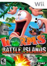 Jaquette Worms : Battle Islands