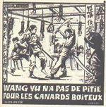 Affiche Wang-Yu n'a pas de pitié pour les canards boiteux