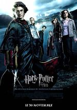 Affiche Harry Potter et la Coupe de feu