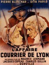 Affiche L'Affaire du courrier de Lyon