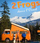 Affiche 2 frogs dans l'Ouest