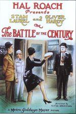 Affiche La bataille du siècle