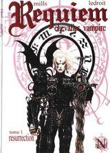 Couverture Résurrection - Requiem, chevalier vampire, tome 1