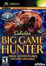 Jaquette Cabela's Big Game Hunter : 2005 Adventures