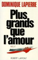 Couverture Plus grands que l'amour