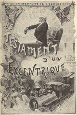 Couverture Le testament d'un excentrique