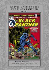Couverture Marvel Masterworks: Black Panther, Volume 1