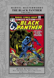 Couverture Marvel Masterworks: Black Panther, Volume 1
