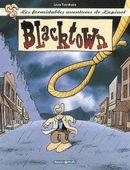 Couverture Blacktown - Les Formidables Aventures de Lapinot, tome 1
