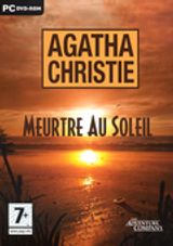 Jaquette Agatha Christie : Meurtre au Soleil
