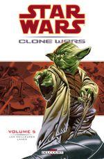 Couverture Les Meilleures Lames - Star Wars : Clone Wars, tome 5