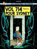 Couverture Vol 714 pour Sydney - Les Aventures de Tintin, tome 22
