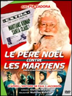 Affiche Le Père Noël contre les martiens