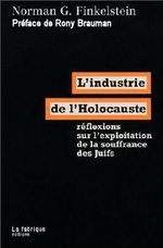 Couverture L'Industrie de l'Holocauste