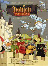 Couverture Le Grand Animateur - Donjon Monsters, tome 11
