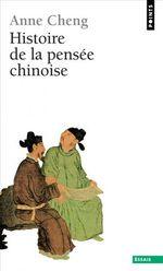 Couverture Histoire de la pensée chinoise