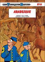 Couverture Arabesque - Les Tuniques bleues, tome 48