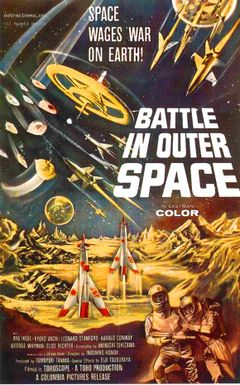 Affiche Bataille dans l'espace