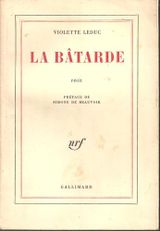 Couverture La Bâtarde