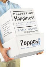 Couverture Delivering Happiness: A Path to Profits, Passion, and Purpose