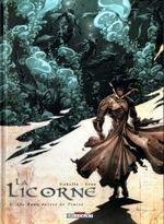 Couverture Les Eaux noires de Venise - La Licorne, tome 3