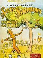 Affiche Des arbres et des fleurs