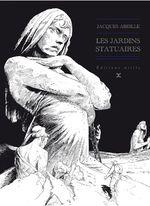 Couverture Les Jardins statuaires - Le Cycle des contrées, tome 1
