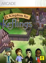 Jaquette A Kingdom for Keflings