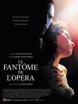 Affiche Le Fantôme de l'opéra
