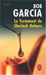Couverture Le Testament de Sherlock Holmes