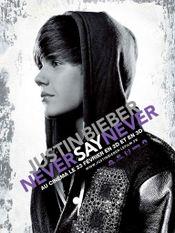 Affiche Justin Bieber : Never Say Never