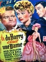 Affiche La Du Barry était une dame