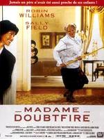 Affiche Madame Doubtfire