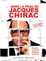 Affiche Dans la peau de Jacques Chirac
