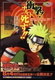 Affiche Naruto Shippuden : La Mort de Naruto