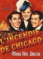 Affiche L'Incendie de Chicago