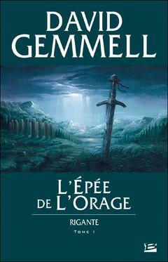 Couverture L'Épée de l'orage - Rigante, tome 1