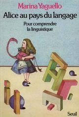 Couverture Alice au pays du langage