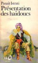 Couverture Présentation des haïdoucs