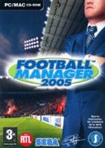 Jaquette Football Manager 2005