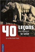 Couverture Latin 40 leçons
