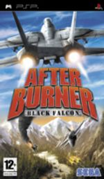 Jaquette After Burner : Black Falcon