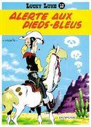 Couverture Alerte aux Pieds-Bleus - Lucky Luke, tome 10