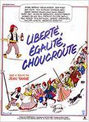 Affiche Liberté, égalité, choucroute