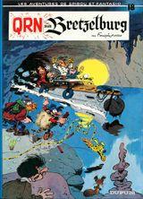 Couverture QRN sur Bretzelburg - Spirou et Fantasio, tome 18