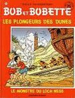 Couverture Les plongeurs de dunes / Le monstre du Loch Ness - Bob et Bobette, tome 215