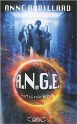 Couverture Antichristus - A.N.G.E., tome 1