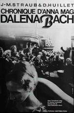 Affiche Chronique d'Anna Magdalena Bach