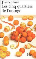 Couverture Les cinq quartiers de l'orange